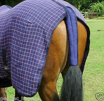 Gee Tac Rug  Horse Elastcated Waterproof Washable Tail Guard Padded Bandage  Cob