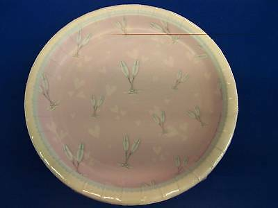 "Bellaroopa Champagne Bubbly Pink Pastel Shower Wedding Party 9"" Dinner Plates"