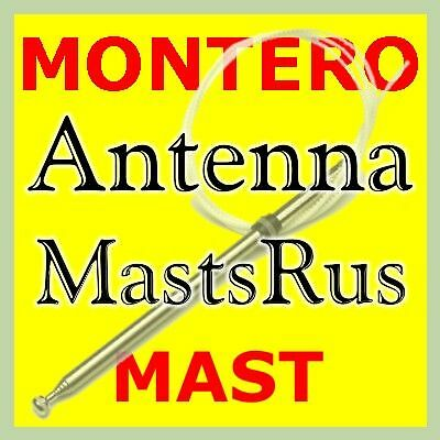 Compatible with Mitsubishi Montero 1992-1996 Factory Replacement Radio Stereo Powered Antenna
