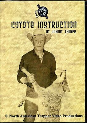 DVD, Thorpe Coyote Instruction Trapping, traps