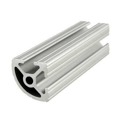 "80/20 Inc 10 Series 1"" x 1"" Quarter Round Aluminum Extrusion #1012 x 48"" Long N"