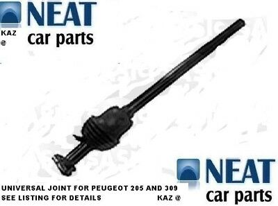 Universal Joint For Peugeot 205 & 309 New 410396