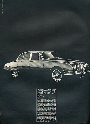 1964 Jaguar 3.8S 380 Classic Vintage Advertisement Ad