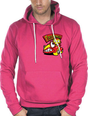 Sweat Coco Bongo Rose Hoodie Roger Taille S Neuf