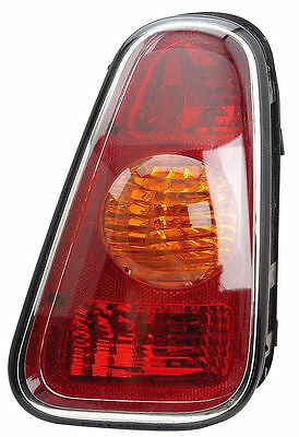 MINI Cooper R50 2001-2006 Tail Light Rear Lamp Without Bulbs Right RH