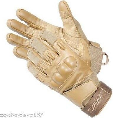 Blackhawk SOLAG NOMEX Assault Gloves 8151LGCT Large Tan Authentic Blackhawk