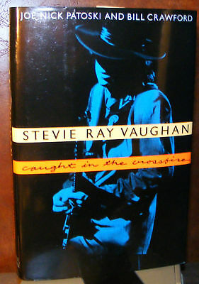 Stevie Ray Vaughan, Crawford & Patoski (93) HC.DJ.1st. Signed Ed. Near Fine Plus