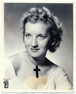 ALICE FROST original radio photo 1940
