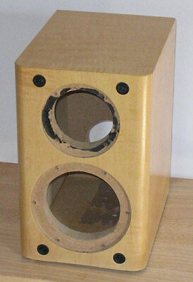 Maple Finished DIY Speaker Cabinet Center Channel Box