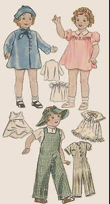 b01bc46fc23aa VINTAGE DOLL CLOTHING PATTERN for 15