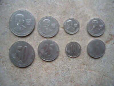 Ecuador  5/10/25/50 Centavos Lot Of (4) Coins Quick Delivery From A Usa Seller !