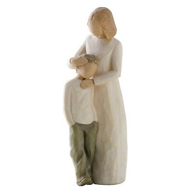 Willow Tree Mother & Son Figurine 26102  Mum Boy in Branded Gift Box
