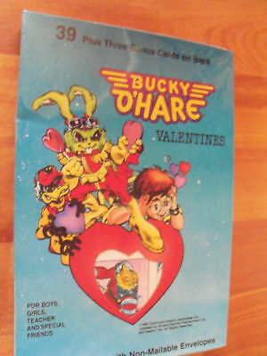 1992 Bucky O'Hare Valentines Classroom Exchange Card NP