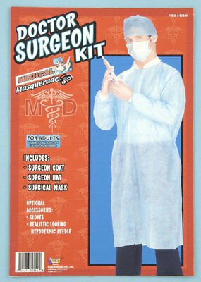 Dr Seymour Smiles Dentist Adult Costume Accessory Kit