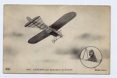 AVIATION*LEBLANC sur Monoplan Bleriot