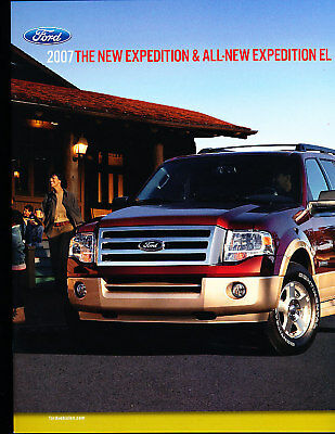 2007 Ford Expediton Deluxe Sales Brochure Book
