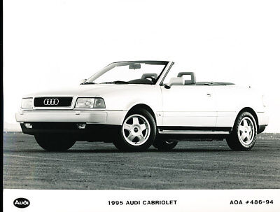 1995 Audi Cabriolet Press Photo Print and Release