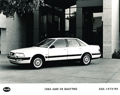 1994 Audi V8 Quattro Press Photo Print and Release