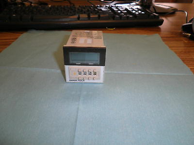 Omron Type: H3CA-8H Timer.  99.9s to 999Oh.   <