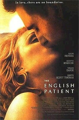 ENGLISH PATIENT (Ralph Fiennes) KISS MOVIE POSTER