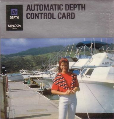 Minolta Chip Depth Control Card