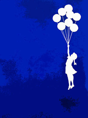 Quality Banksy Art Photo Print (Ballon Girl)