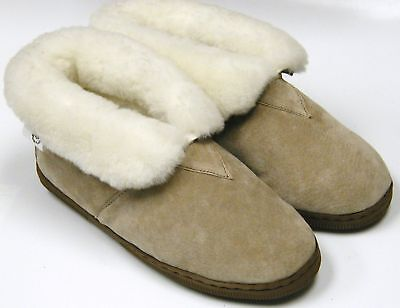 Women's Shoes Sheepskin Shearling Boot Slipper Size