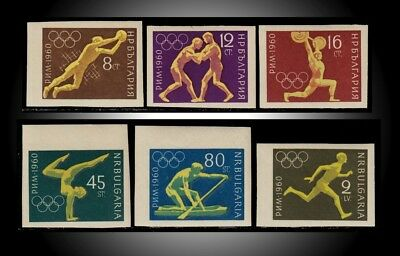 Olympic Rome Werstiling Canoeing Gymnast Runner Lifting