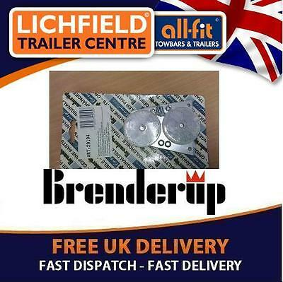 Brenderup Trailer Reflectors White Pair Inc Brackets £££