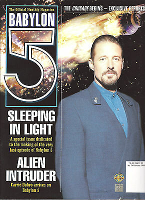 Babylon 5 Official Magazine Vol 2 #7- British-Making of the Last Episode