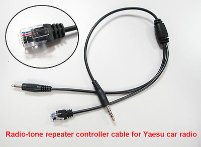 Radio-tone Repeater Cable adaptor for Yaesu Mobile