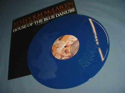 """MALCOLM McLAREN House Of Blue Danube 12"""" ETCHED Record"""