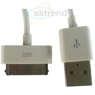Sync Kabel Usb 2.0 f. PC iPhone 3G 4G 4 iPod Ladekabel