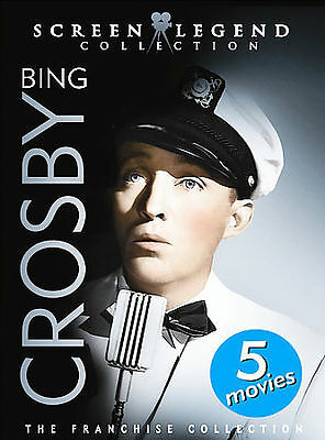 BING CROSBY - SCREEN LEGEND COLLECTION 5-Film 3-DVD Set Classic Movies NEW