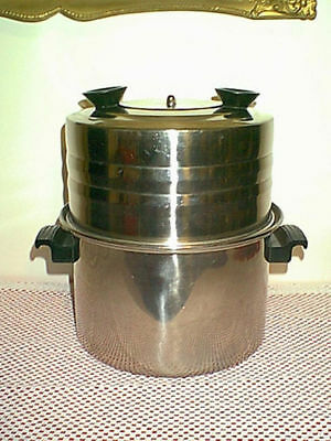 Vintage Adolphus Stove Top Meat Tenderizer Stanless 6Qt