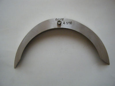 "large radius gage set 16 sizes-4 1/16"" to 5"""