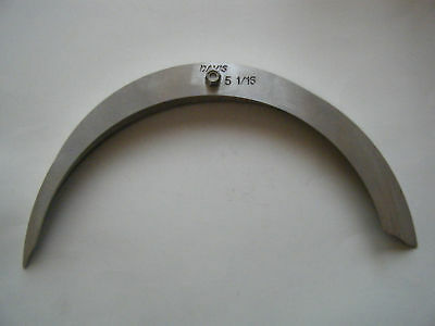 "large radius gage set 16 sizes-5 1/16"" to 6"""