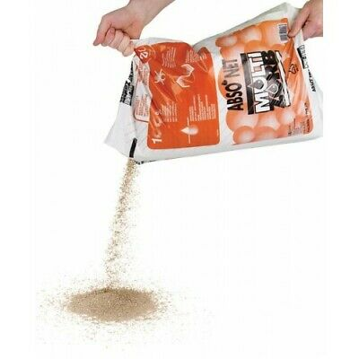 Absorbent Granules Oil Liquid Spill Dry 30 Litre Bag x 5