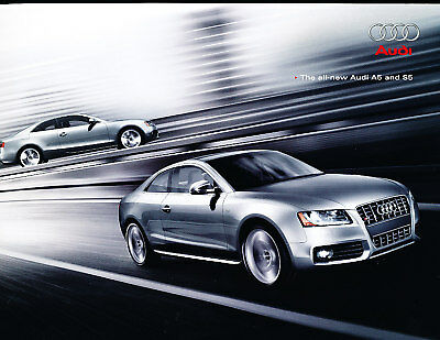 2008 Audi A5 and S5 Coupe Deluxe Sales Brochure Book