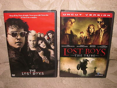 THE LOST BOYS / LOST BOYS: THE TRIBE 2-DVD Set Lot