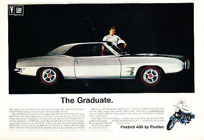 1969 Buick GS400 Stage I Vintage Advertisement Ad P28