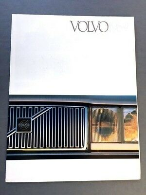 1989 Volvo Line Sales Brochure 240 740 760 780 Coupe