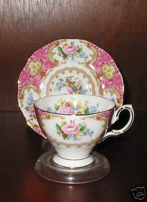 Royal Albert LADY CARLYLE  After Dinner Cup/Saucer