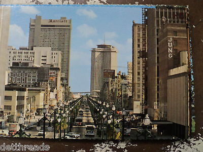CANAL STREET - NEW ORLEANS, LOUISIANA -Post Card-1970'S