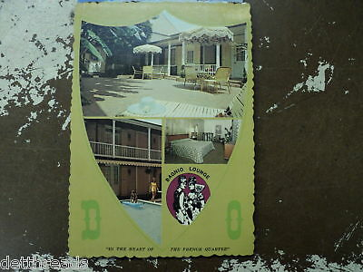 DAUPHINE NEW ORLEANS MOTOR HOTEL - Post Card - 1970's