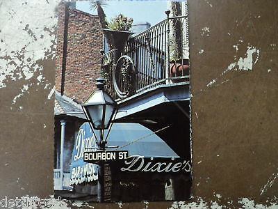 DIXIE'S BAR OF MUSIC - NEW ORLEANS - Post Card - 1970's