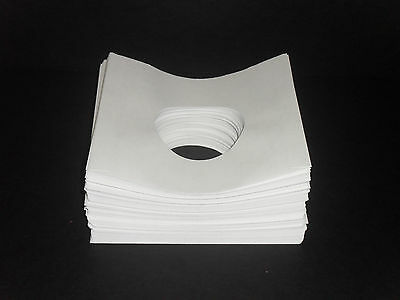 200 White Paper 45rpm Record Sleeves 20# Acid-Free Paper