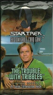 Star Trek Ccg - Trouble With Tribbles Booster