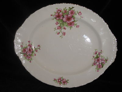 GRINDLEY - GRI73 - Peach Blossoms - SERVING PLATTER