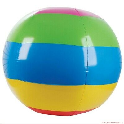 Large Giant Massive 46 Inch Inflatable Beach Ball - Outdoor Fun